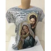 Camiseta estampa Sagrada Família