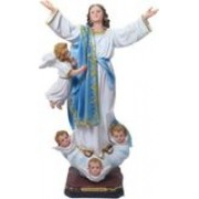 Nossa Senhora da Assunção - 20cm - resina