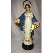 Nossa Senhora do Sorriso - altura 30cm - fabricada em durata