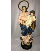 Nossa Senhora dos Remédios - altura 30cm - fabricada em durata