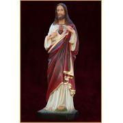 Sagrado Coração de Jesus 63CM - Resina