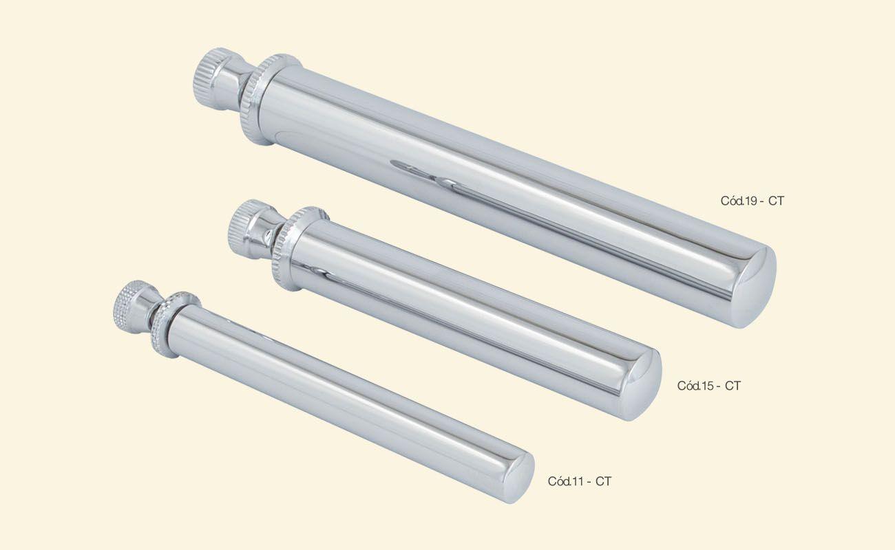 Asperge fabricado em metal, com vedação para o depósito de água - dourado ou niquelado