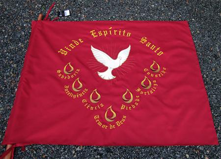 Bandeira Divino Espirito Santo - pentecostes 4