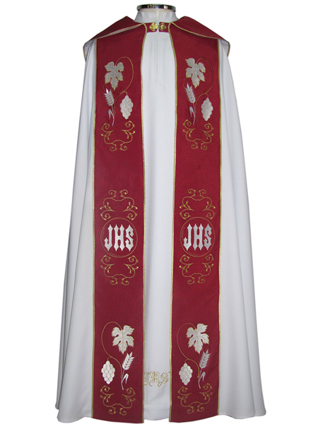 Capa de Asperge - confeccionda em tecido shantung