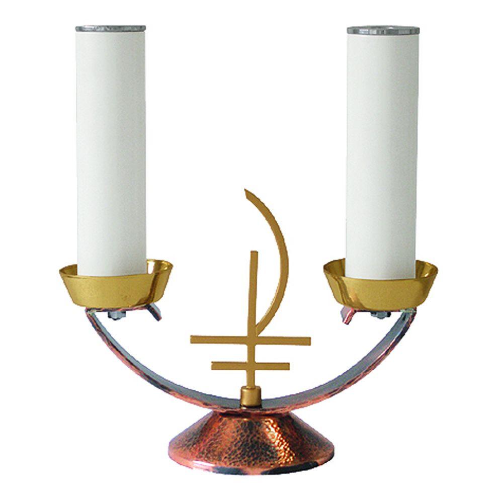 Castiçal de mesa - altura 15,5 cm