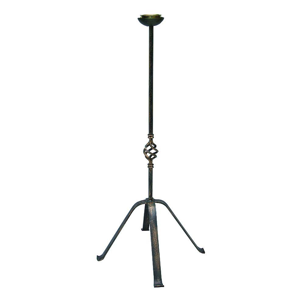 Castiçal para Círio e Vela - altura 100cm
