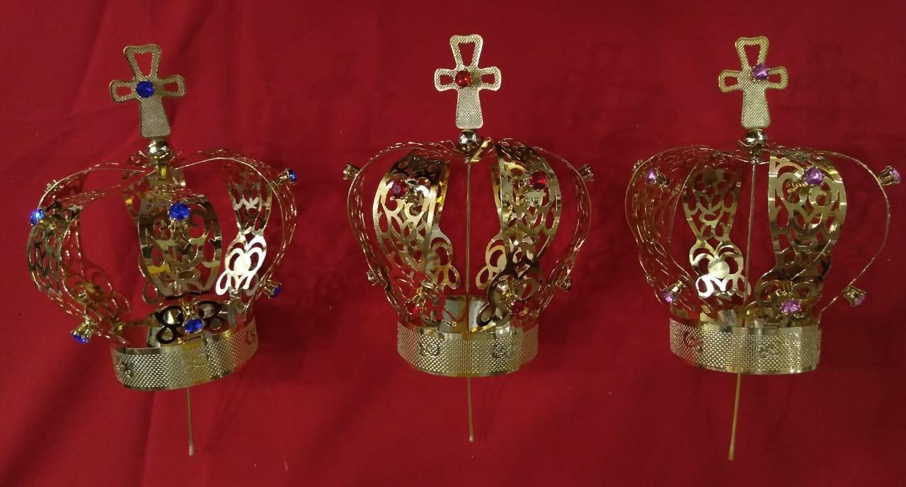 Coroa CR15 6 Pétalas