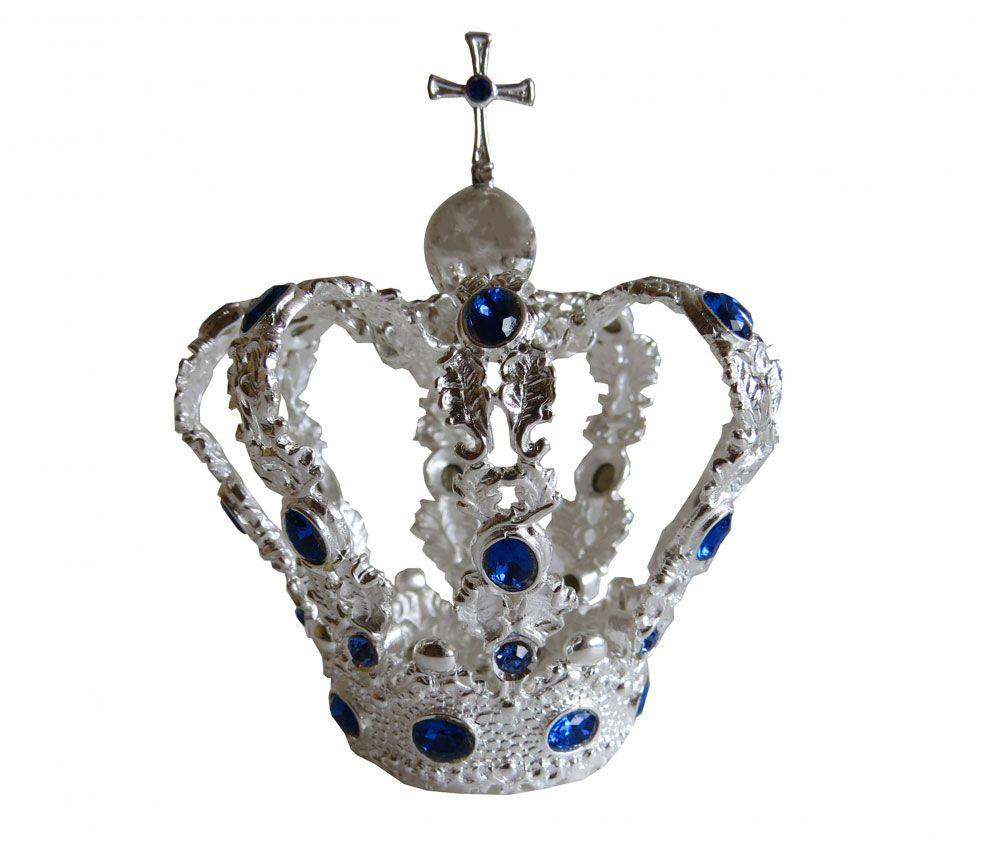 Coroa fundida prateada