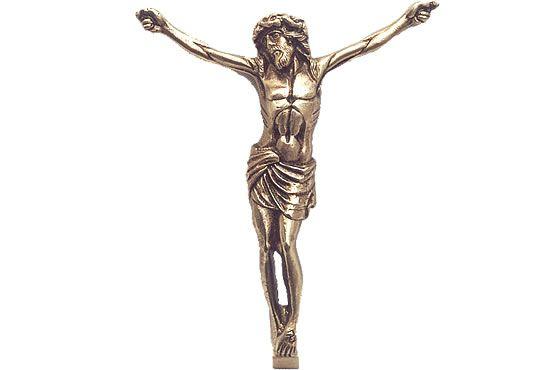 Cristo para túmulo - em metal ou alumínio