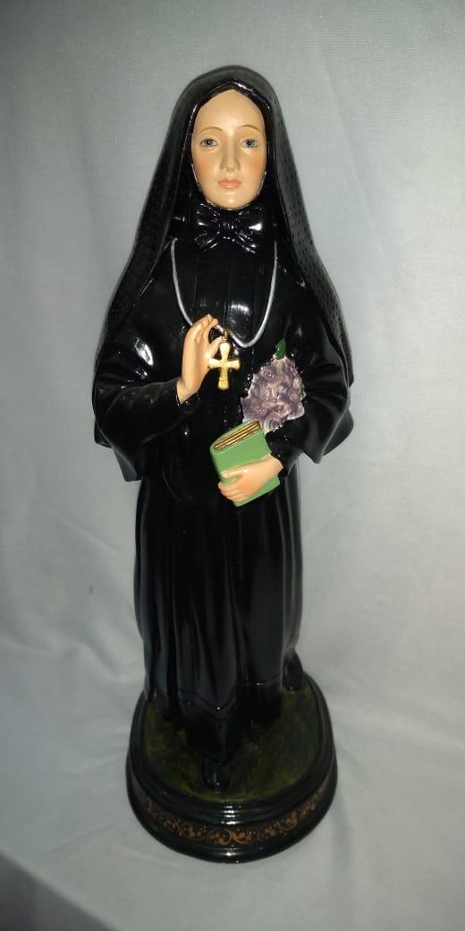 Madre Cabrini - altura 30cm - fabricada em durata