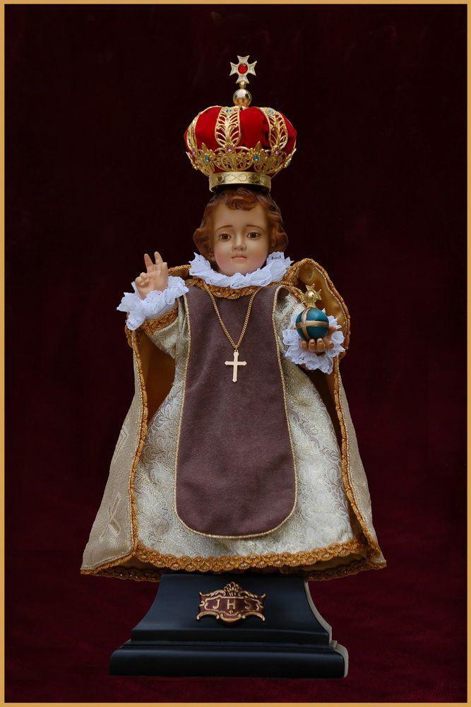 Menino Jesus de Praga 43CM - Resina