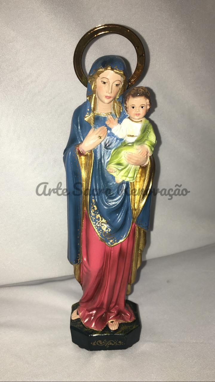 Nossa Senhora da Consolata - altura 20cm - fabricada em durata