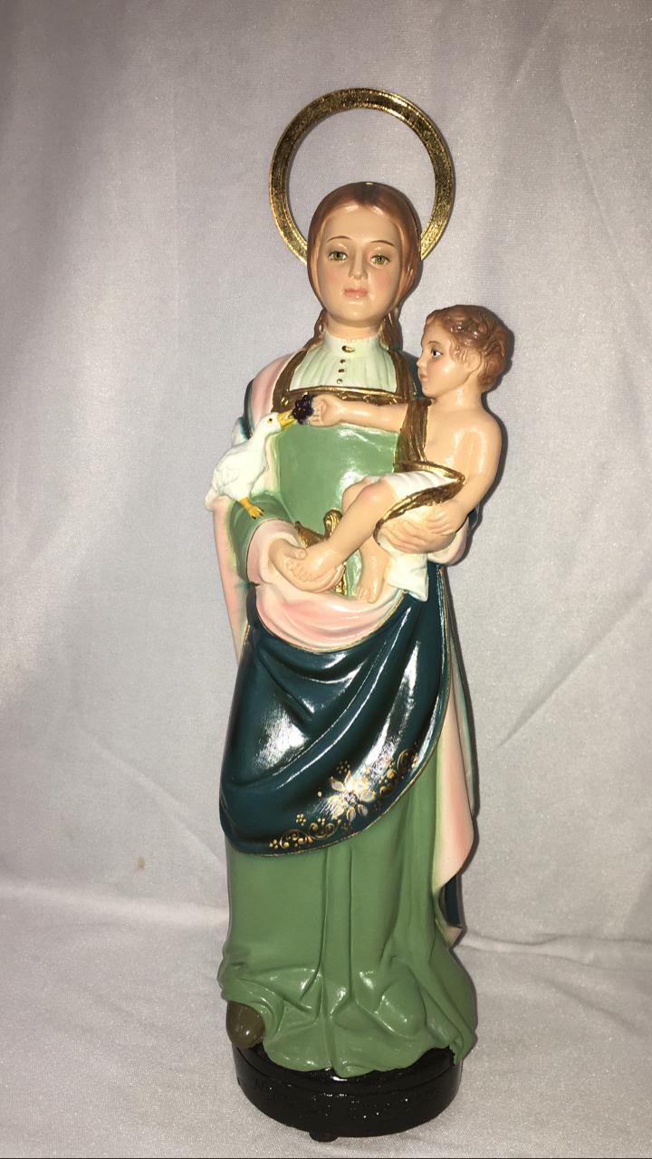 Nossa Senhora da Esperança - altura 25cm - fabricada em durata