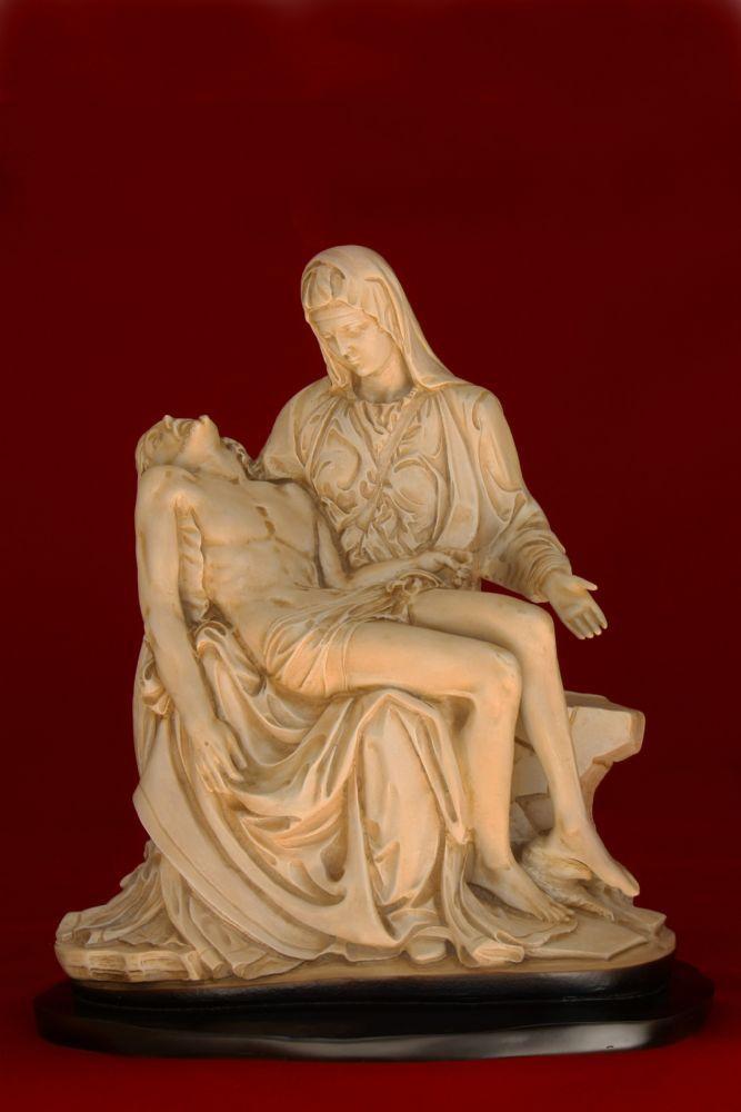 Nossa Senhora da Piedade 43CM cor Marfim - Resina