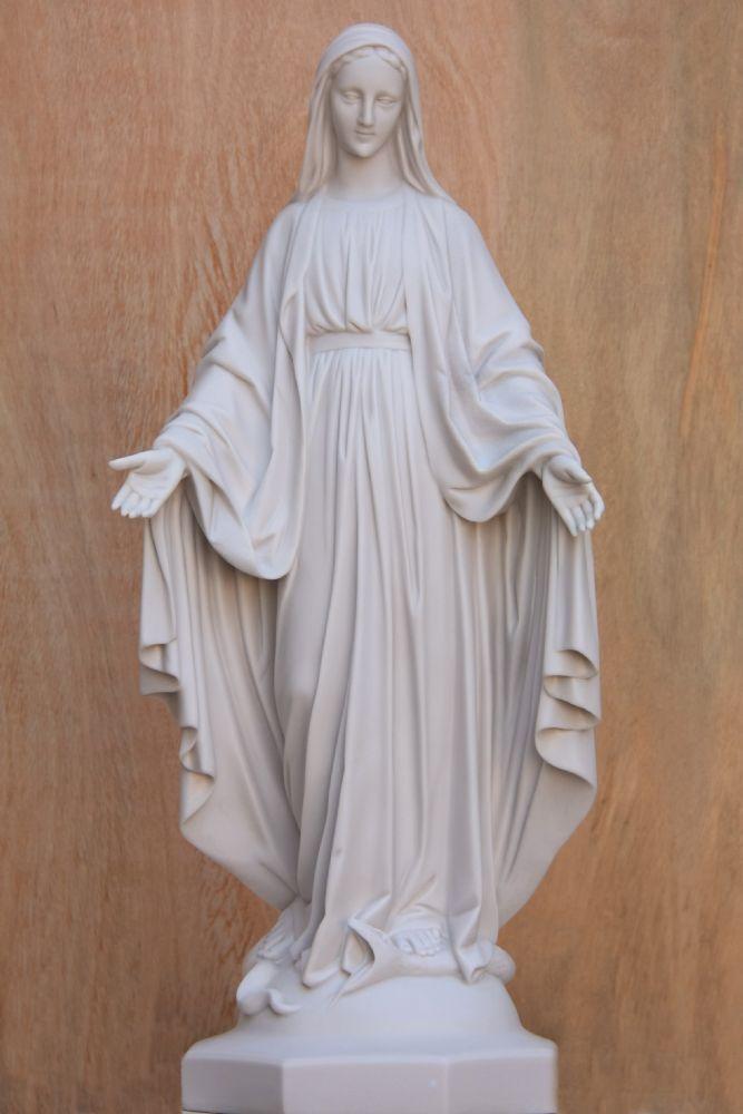 Nossa Senhora das Graças - em pó de mármore e resina - 82cm