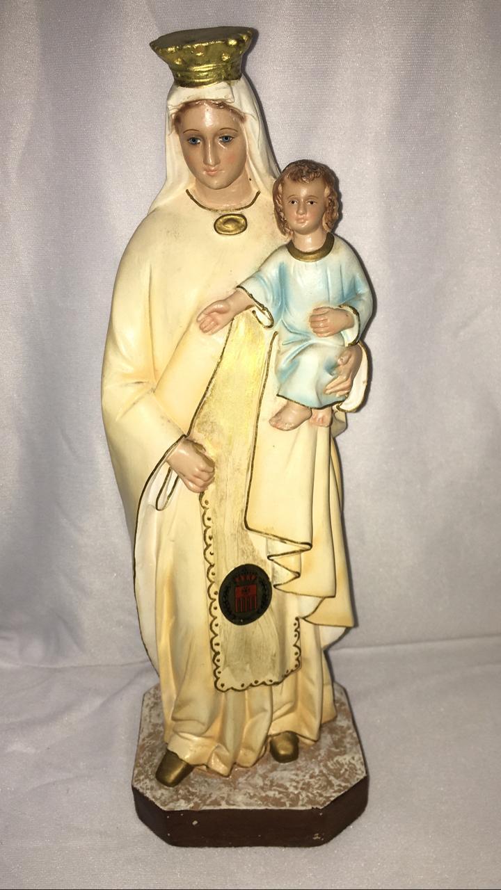 Nossa Senhora das Mercês - altura 30cm - fabricada em durata