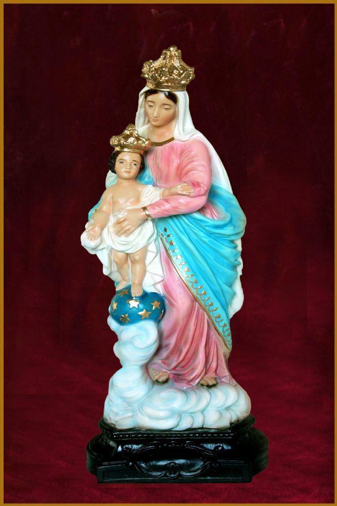 Nossa Senhora das Vitorias 31CM Colorida - Resina