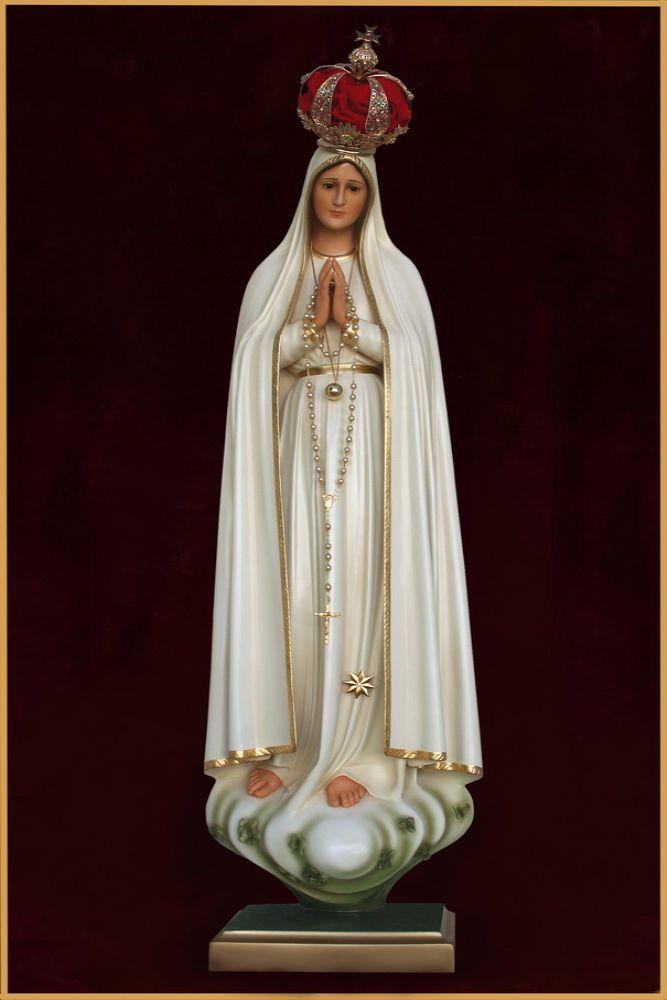 Nossa Senhora de Fátima 120CM - Resina