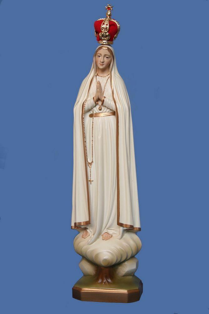 Nossa Senhora de Fátima 28CM - Resina