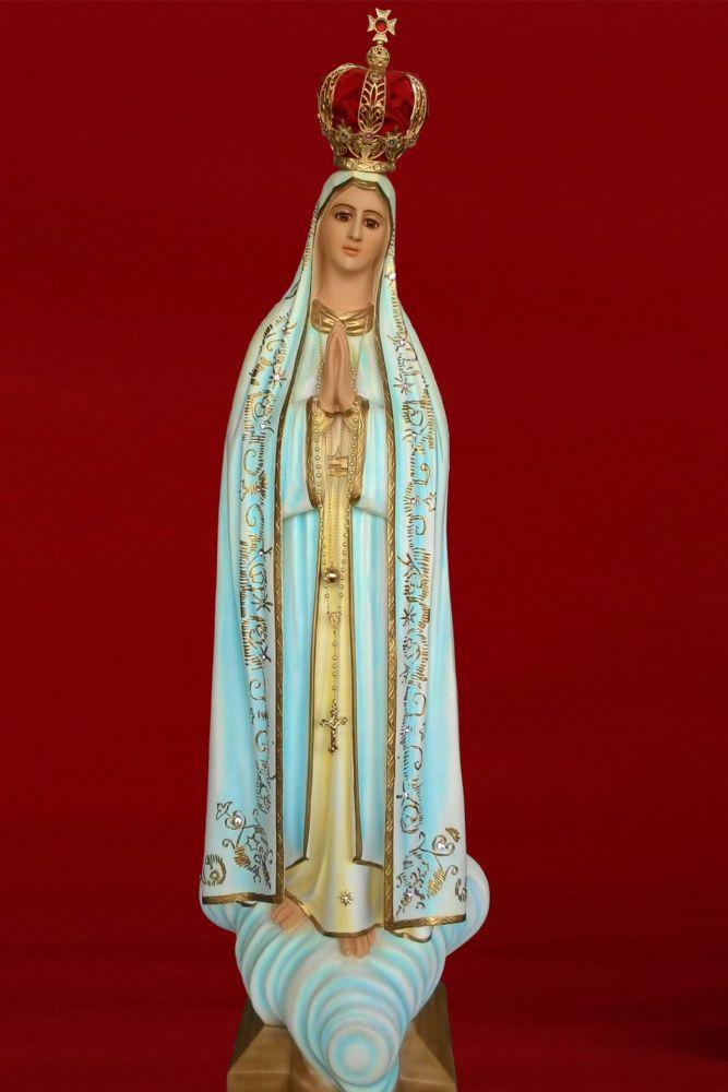 Nossa Senhora de Fátima 85CM - Resina