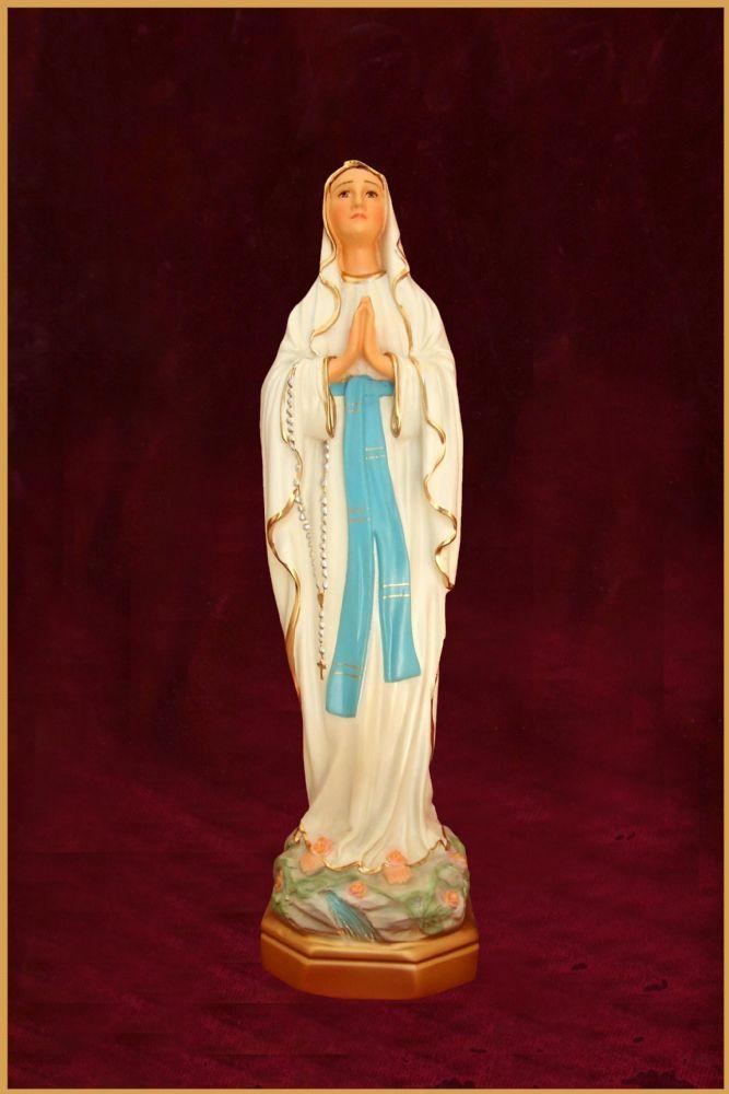 Nossa Senhora de Lourdes - em resina - 35cm