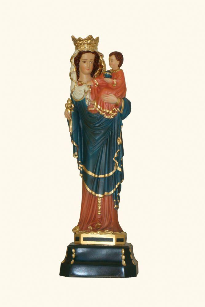 Nossa Senhora de Paris 29CM Colorida - Resina