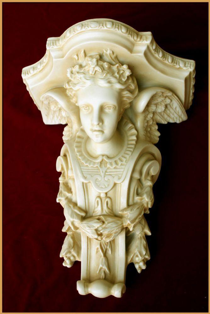 Pedestal com Anjo - Resina