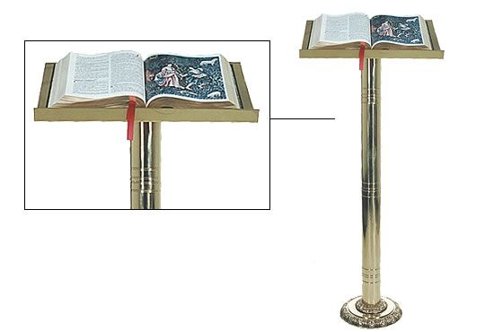 Ambão de leitura com base - 1,20x50cm