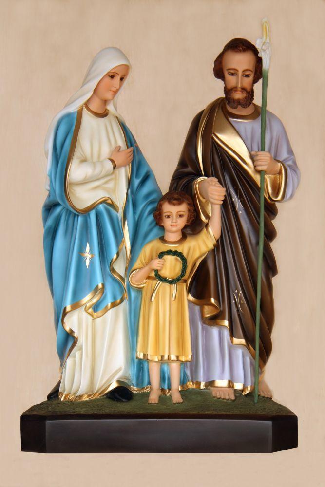 Sagrada Família 55CM - Resina