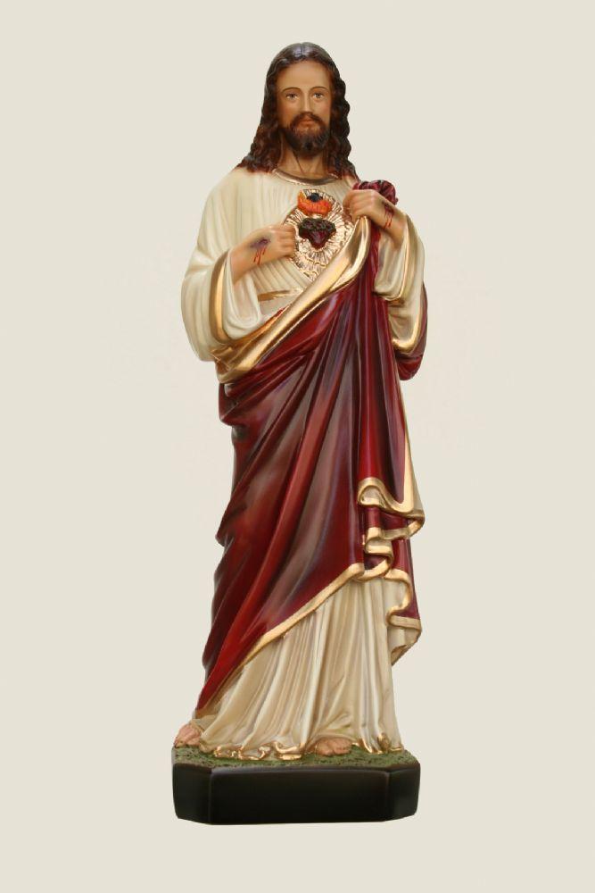 Sagrado Coração de Jesus 45CM - Resina