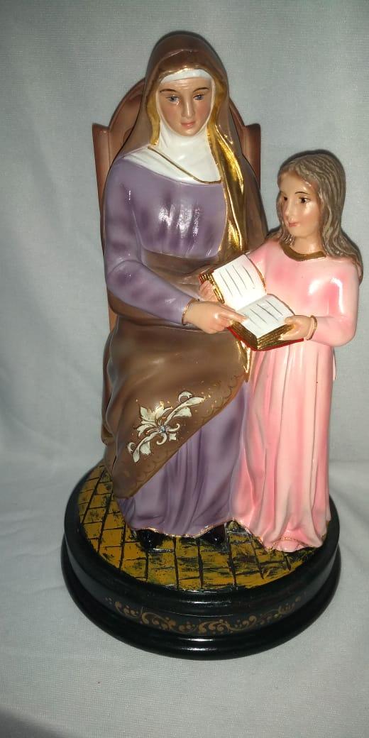 Sant'Anna - altura 25cm - fabricada em durata