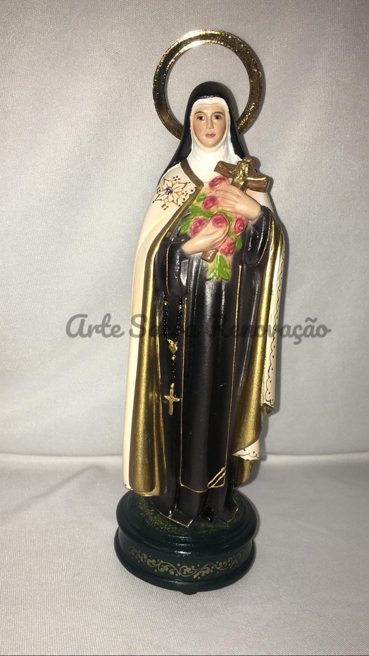 Santa Terezinha do Menino Jesus - altura 20cm - fabricada em durata