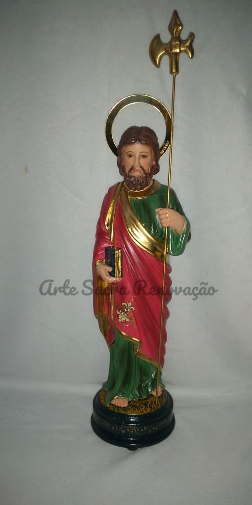 São Judas - altura 20cm - fabricada em durata