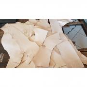 5 kilos de retalho de couro sola e atanado - espessura 2,5 a 3,5mm