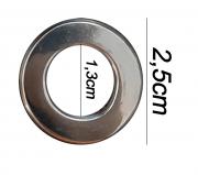 Argola numero 14 inox grossa espessura 8mm