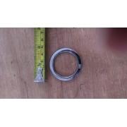 Argola numero 18 inox grossa espessura 8mm
