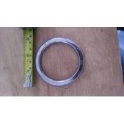 Argola numero 23 inox grossa espessura 8mm