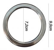 Argola numero 25 inox grossa espessura 8mm