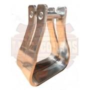 Estribo / Estrivo De Aluminio P/ Sela / Passador da Correia 5cm