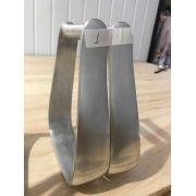 Estribo / Estrivo De Aluminio Para Sela / Selaria Modelo 1