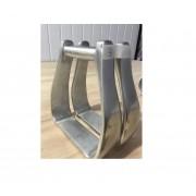 Estribo / Estrivo De Aluminio Para Sela / Selaria Modelo 3