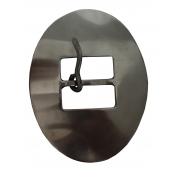 Fivela Oval GG em Inox