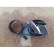 Grampo / Jacarezinho / prendedor para couro feito em alumínio