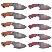 Kit com 10 facas / faquinha / boiadeira / muladeira
