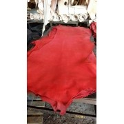 Meio Curtume Vermelho P/ Selaria / Latico / Loro 3,5 A 4mm