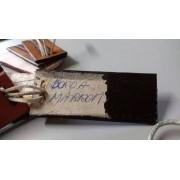 Tinta Borda Italiana COR MARROM Para Couro/sola/cinto Embalagem 1 Litro