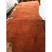 Vaqueta Nobuck Abufalado cor telha Ferrugem