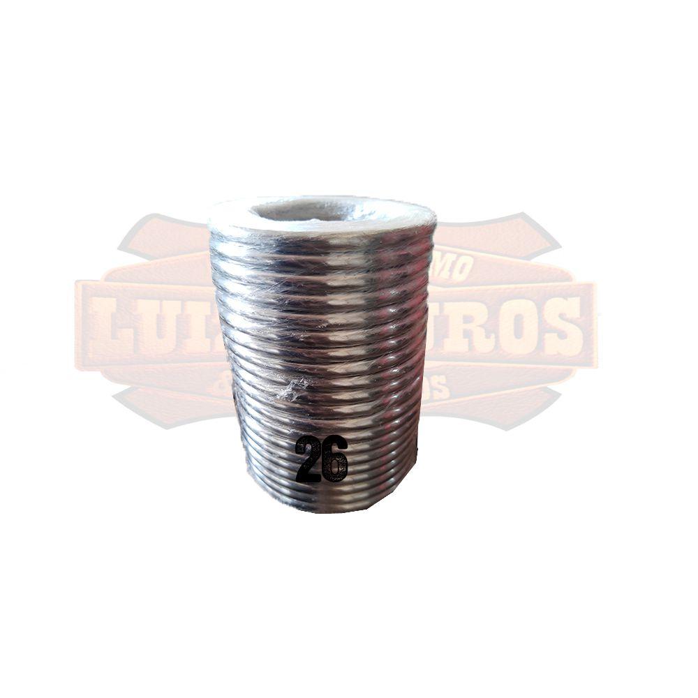 Pacote de Argola Inox Nº 26 Chata Pacote C/20 Unidades