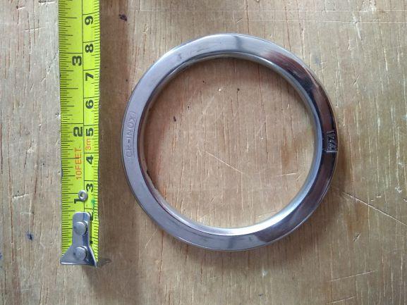 Argola numero 24 inox grossa espessura 8mm