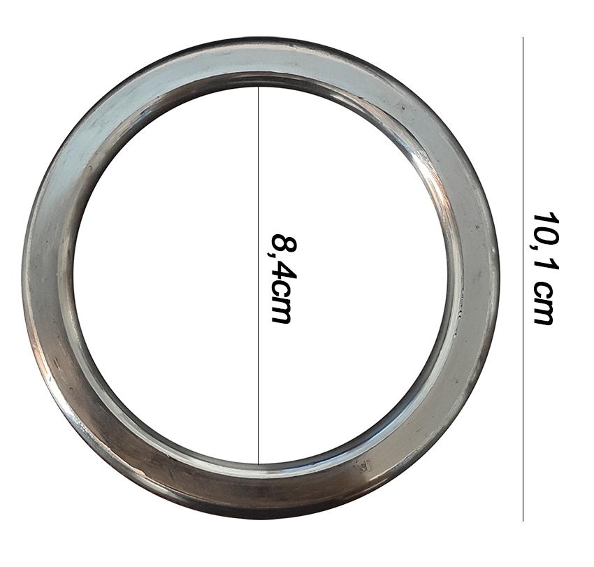 Argola numero 27 inox grossa espessura 8mm